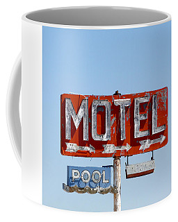 Route 66 Motel Sign Coffee Mug