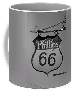 Route 66 - Phillips 66 Petroleum Coffee Mug by Frank Romeo