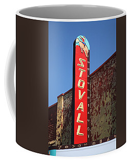 Route 66 - Stovall Theater Coffee Mug by Frank Romeo