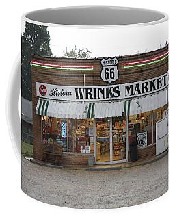 Route 66 - Wrink's Market Coffee Mug