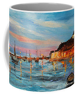 Rovanij Harbour Coffee Mug