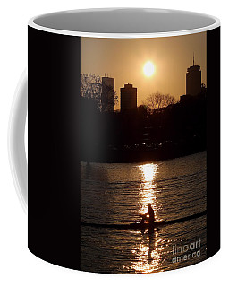 Rower Sunrise Coffee Mug