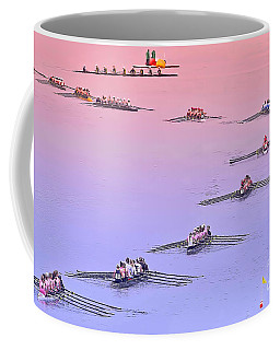 Rowers Arc Coffee Mug by Gary Holmes