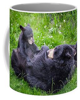 Coffee Mug featuring the photograph Rowr Mama Rowr by Tim Newton