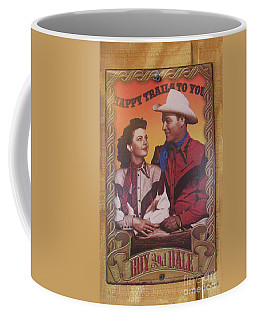 Roy And Dale Coffee Mug by Donna Brown