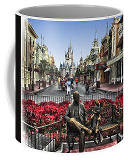 Roy And Minnie Mouse Walt Disney World Coffee Mug