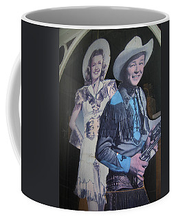 Roy Rogers And Dale Evans #2 Cut-outs Tombstone Arizona 2004 Coffee Mug
