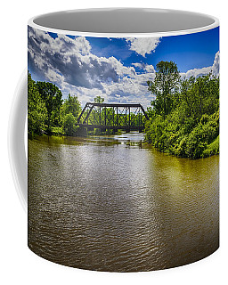 Coffee Mug featuring the photograph Royal River by Mark Myhaver