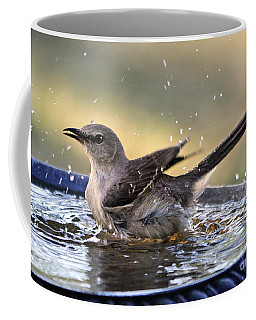 Rub-a-dub-dub Mockingbird Coffee Mug