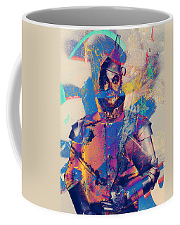 Rubber Tin Man  Coffee Mug