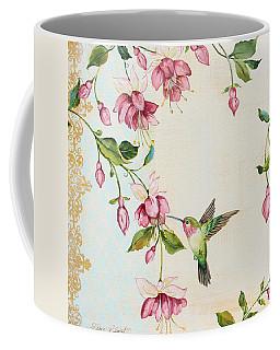 Rubies Among The Fuchsias-a Coffee Mug