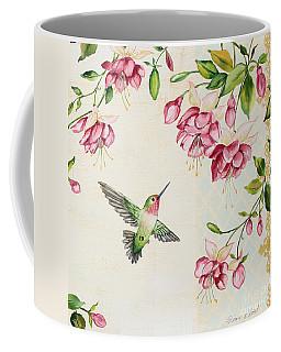 Rubies Among The Fuchsias-b Coffee Mug