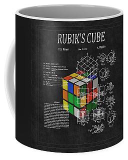 Rubik's Cube Patent 3 Coffee Mug