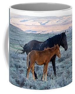 Ruby And Coal Of Sand Wash Basin Coffee Mug