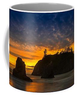 Ruby Beach Olympic National Park Coffee Mug by Steve Gadomski