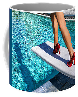 Ruby Heels Ready For Take-off Palm Springs Coffee Mug