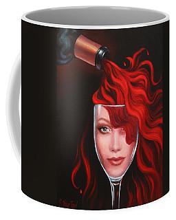 Ruby Red Coffee Mug by Sandi Whetzel