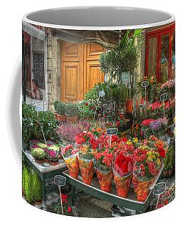 Rue Cler Flower Shop Coffee Mug