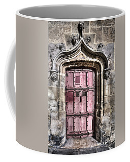 Ruins With Red Door Coffee Mug
