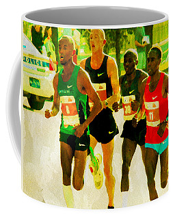 Runners Coffee Mug by Alice Gipson
