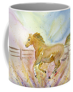 Running Horse Coffee Mug