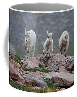 Running Scared Coffee Mug