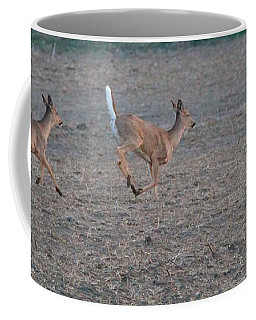 Running White-tailed Deer Coffee Mug
