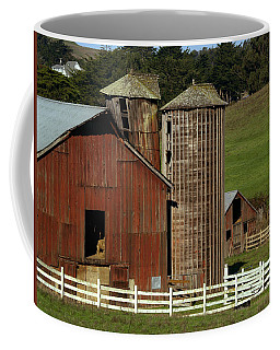 Rural Barn Coffee Mug