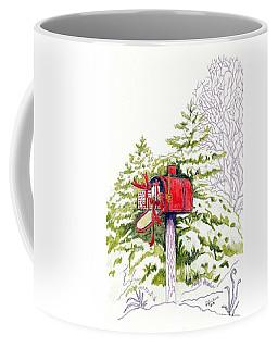 Country Living Christmas Delivery Coffee Mug