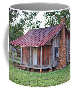 Coffee Mug featuring the photograph Rural Georgia Cabin by Gordon Elwell