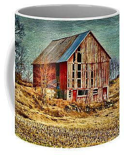 Rural Rustic Vermont Scene Coffee Mug by Deborah Benoit