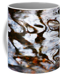 Coffee Mug featuring the photograph Rushing Water by Deborah  Crew-Johnson