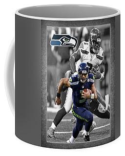 Russell Wilson Seahawks Coffee Mug