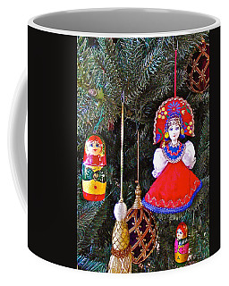 Russian Christmas Tree Decoration In Fredrick Meijer Gardens And Sculpture Park In Grand Rapids-mi Coffee Mug