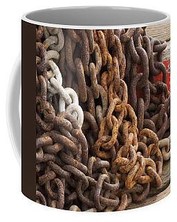 Rust Chains Coffee Mug