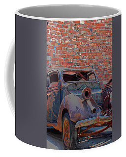 Coffee Mug featuring the photograph Rust In Goodland by Lynn Sprowl