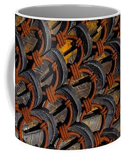 Rusted Circles Coffee Mug