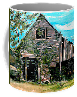 Rustic Barn - Mooresburg - Tennessee Coffee Mug by Jan Dappen