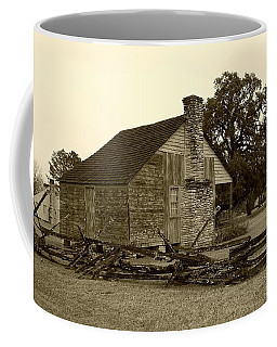 Coffee Mug featuring the photograph Rustic Building by Ellen O'Reilly