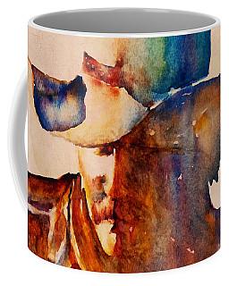 Rustic Cowboy Coffee Mug by Jani Freimann