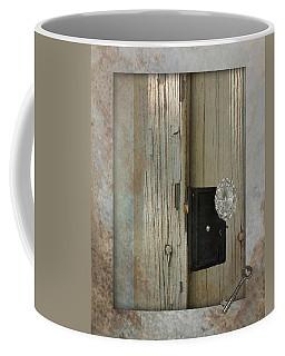Rustic Glass Door Knob Coffee Mug
