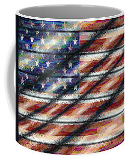 Rustic Usa Coffee Mug
