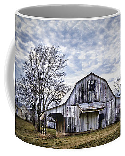 Rustic White Barn Coffee Mug