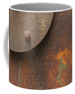 Rusty Abstraction Coffee Mug