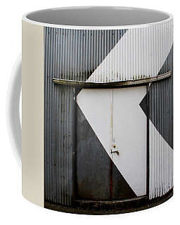 Rusty Door- Photography Coffee Mug