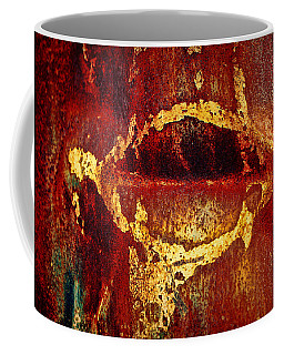 Rusty Kiss Coffee Mug by Leanna Lomanski