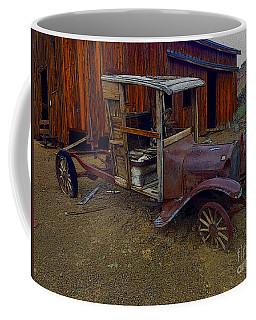 Rusty Old Vintage Car Coffee Mug by R Muirhead Art