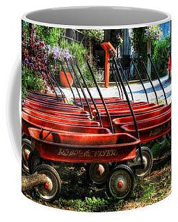 Rusty Old Wagons Coffee Mug
