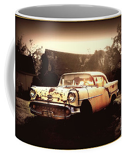 Rusty Oldsmobile Coffee Mug