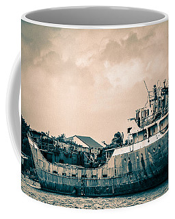 Rusty Ship Coffee Mug